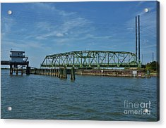 Surf City Swing Bridge - 1 Acrylic Print