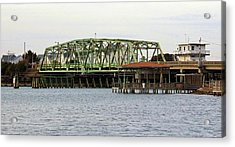 Surf City Swing Bridge Acrylic Print