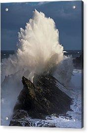 Surf Eruption Acrylic Print