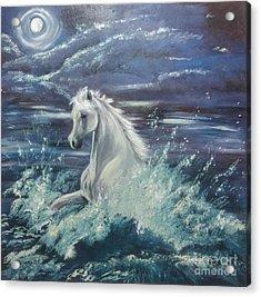 White Spirit Acrylic Print