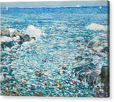 Surf, Isles Of Shoals, 1913 Acrylic Print