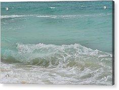Surf Acrylic Print by JAMART Photography