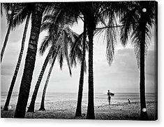 Surf Mates 2 Acrylic Print