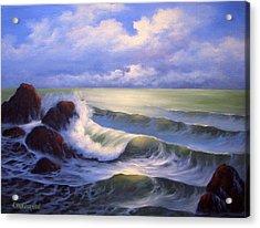 Surf Melody Acrylic Print