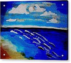 Surf Of Love 2 Acrylic Print