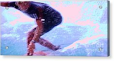 Surf The Big Wave Acrylic Print