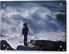 Surf Watcher Acrylic Print