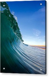 Acrylic Print featuring the photograph Surface by Sean Foster