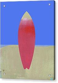 Surfboard Art Acrylic Print by Jacquie Gouveia