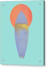 Surfboard Art Print Acrylic Print by Jacquie Gouveia