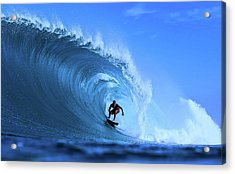 Acrylic Print featuring the photograph Surfer Boy by Movie Poster Prints