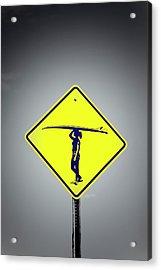 Surfer Girl #3 Acrylic Print