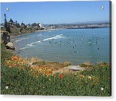 Surfers Acrylic Print