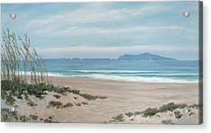 Surfers Knoll Anacapa View #5 Acrylic Print by Tina Obrien