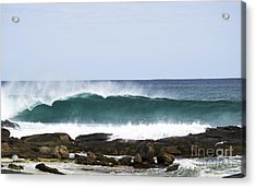 Acrylic Print featuring the photograph Surfers Point by Angela DeFrias