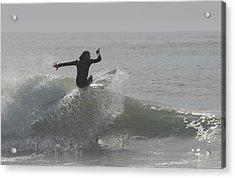 Surfing 114 Acrylic Print by Joyce StJames