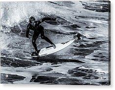 Surfing Air Acrylic Print by Thomas Gartner