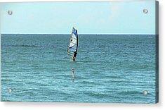Surfing En Ocean Park Acrylic Print