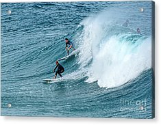Surfing Fun By Kaye Menner Acrylic Print