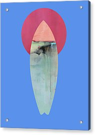 Surfing Print Acrylic Print by Jacquie Gouveia