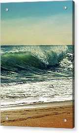 Acrylic Print featuring the photograph Surf's Up by Laura Fasulo