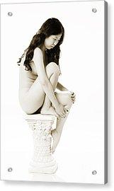 Suro Female Nude Fine Art Print Picture Or Photograph  4339.01 Acrylic Print