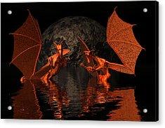 surPRISE Acrylic Print by Claude McCoy