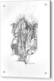Surreal 10-1 Acrylic Print by Padamvir Singh