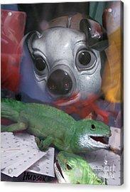 surreal animals fantasy art - Animal House Acrylic Print