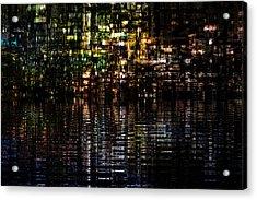 Surreal Evening Acrylic Print