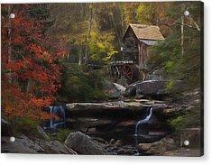 Surreal Glade Creek Acrylic Print