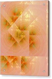 Acrylic Print featuring the digital art Surreal Skylight by Richard Ortolano