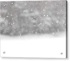 Surreal Snowdrops Acrylic Print