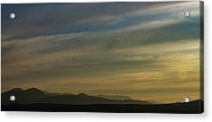Surreal Sunset Acrylic Print