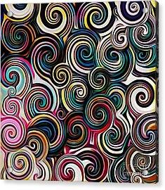 Surreal Swirl  Acrylic Print
