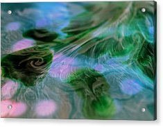 Acrylic Print featuring the photograph Surreal Waters V2 by Rico Besserdich