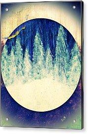 Surreal Winter Wilderness Acrylic Print