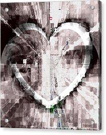Surrender Acrylic Print by Fania Simon