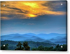 Surrender The Day Acrylic Print by Dale R Carlson