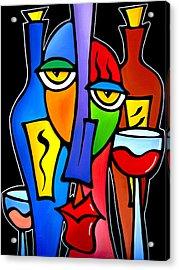 Surrounded - Original Pop Art By Fidostudio Acrylic Print by Tom Fedro - Fidostudio