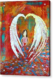 Surrounded By Love Acrylic Print