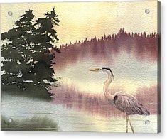 Surveyor Of The Morning Acrylic Print