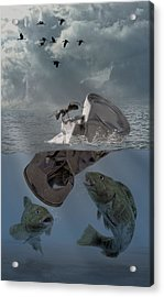 Survival Of The Fittest Acrylic Print by Solomon Barroa
