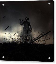 Survivorman Acrylic Print by Stelios Kleanthous
