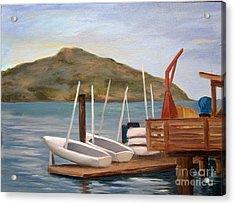 Susalito Dock Acrylic Print