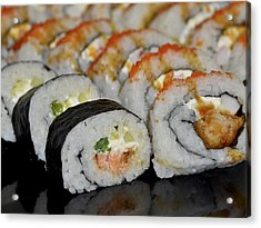 Sushi Rolls From Home Acrylic Print