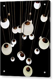 Suspended - Balls Of Light Art Print Acrylic Print