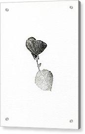 Suspense Acrylic Print by Bella Larsson