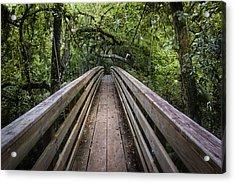 Suspension Bridge To Destiny Acrylic Print
