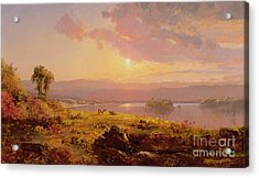Susquehanna River Acrylic Print by Jasper Francis Cropsey